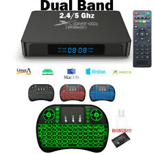 X96Q PRO COMBO 4K HD Smart TV Box 2.4/5Ghz Wifi 2021 Quad Core Android 10.0