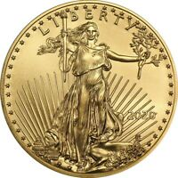 2020 1/10 oz Gold American Eagle Coin Brilliant Uncirculated