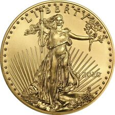 2020 1/10 oz Gold American Eagle Coin Brilliant Uncirculated - DELAYED SHIPPING