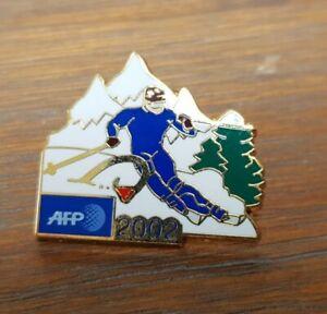PINS MEDIA AFP JO OLYMPICS GAMES SALT LAKE 2002 SIGNÉ AB