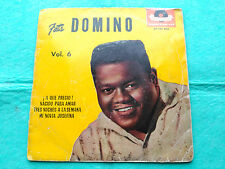 EP FATS DOMINO VOL. 6 - ¡A QUE PRECIO! + 3 - POLYDOR SPAIN 1961 VG
