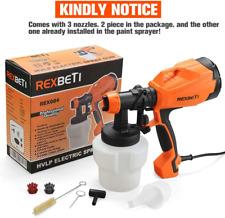REXBETI Rex004 High Power Paint Sprayer, HVLP Home Electric Spray Gun BRAND NEW