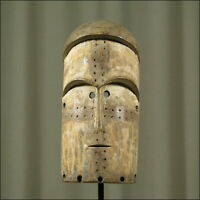 59812) Afrikanische Mbete Holz Maske Gabun Afrika KUNST