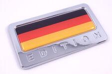 Germany Flag German Edition Chrome Emblem 3D Car bike  Badge