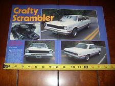 1969 AMC HURST SCRAMBLER - ORIGINAL 1987 ARTICLE