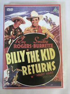 Billy The Kid Returns with Roy Rogers & Smiley Burnette