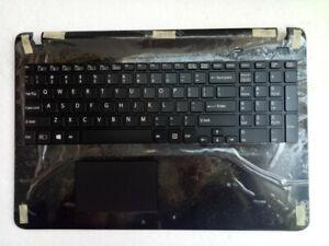 Sony Vaio SVF15 SVF151 SVF152 SVF153 SVF154 US Keyboard Frame Palmrest Touchpad