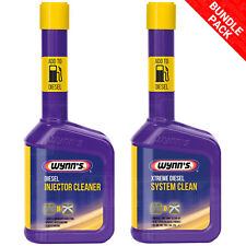 Wynns Diesel Injector Cleaner 325ml Reduces Fuel Consumption X2