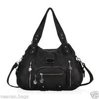 New Women's Shoulder Bag Handbag Large Tote Pockets Purses Ladies Weekend Bags