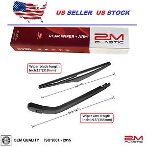 Rear Wiper Arm & Blade For Toyota Yaris 2007-2014 Scion XB 2008-2015 OE Quality