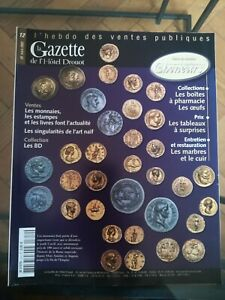 La Gazette de l'Hôtel Drouot n°12