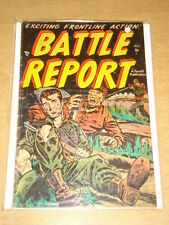 BATTLE REPORT #2 VG- (3.5) AJAX COMICS OCTOBER 1952