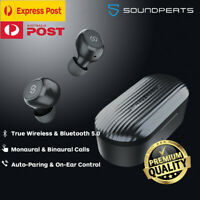 SoundPEATS TrueFree+ Wireless Earbuds Bluetooth 5.0 Headphone Earphone Black