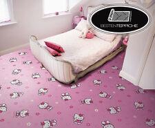 KINDERTEPPICH Teppich DISNEY HELLO KITTY, Rosa, Pink, Spielteppich, alle Größen