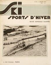 Ski Sport d'Hiver n°29 - 1935 - Garmisch Partenkirchen et les J.O -