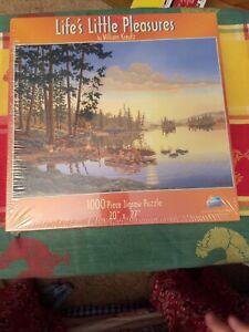 NEW VTG SunsOUt Life's Little Pleasures William Kreutz 1000 piece puzzle Sealed