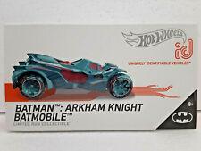 Batman: Arkham Knight Batmobile (2019) Hot Wheels ID Limited Run Collectible New