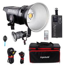Aputure LS C120d II COB 120D 180W 5500K LED Video Light V Mount C120II + Fresnel
