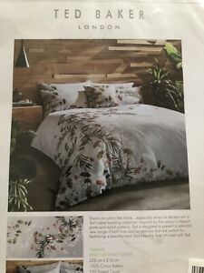 Ted Baker Highland King Size Duvet Cover Only (no Pillow Case) New RRP£110