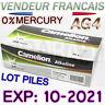 LOT 10 PILE BOUTON AG4 1.5V LR66 SR66 LR626 SR626 626A GP77A • EXP: 10-2021