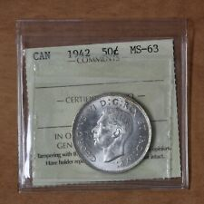 Canada - 1942 - 50 cents - ICCS MS-63 - #2618