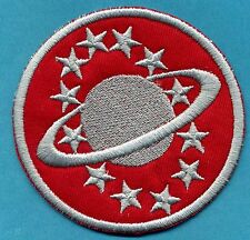 Galaxy Quest Crew Mission Embroidered Iron on Patch