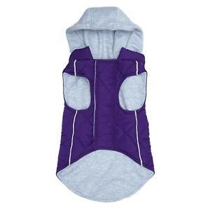 Doggie Design Weekender Dog Sweatshirt Hoodie - Purple