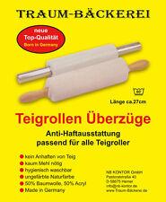 2 Teigrollen Überzüge für einfaches Teigausrollen ohne Teiganhaften