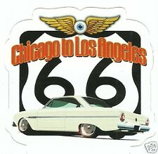 ROUTE 66 AND FORD FALCON Sticker Decal