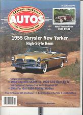 SPECIAL INTEREST AUTO #125 - 1955 CHRYSLER, 1968 CHEVELLE ,1970  GTO