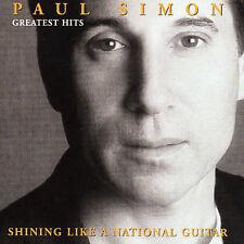 Greatest Hits: Shining Like a National Guitar by Paul Simon (CD, 2000, WEA) NM