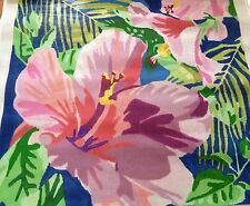 """50% off Jean Smith Floral Rug Needlepoint Canvas  48""""x48"""""""