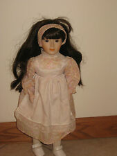 Vintage 1986 Brinn Porcelain Collectible Doll Sound Of Music (tag# 213)