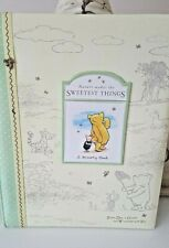 Disney Classic Pooh Baby Memory Book Nature Makes the Sweetest Thing 9 x 11.5 in