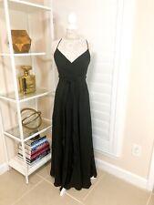 Pre-Owned Women's J.Crew Goddess Gown, Black, Sz 6