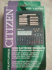 Brand New! Original CITIZEN ED-130N PERSONAL ELECTRONIC ORGANIZER 32KB - NIB!