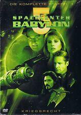 Spacecenter Babylon 5 Staffel 3 Kriegsrecht 6 DVD BOX  NEU OVP Sealed Deutsche A