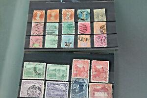 TASMANIA - RANGE OF VAN DIEMENS & EARLIER ISSUES IN CARDS - USED