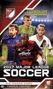 2017 Topps MLS Soccer - Pick A Player