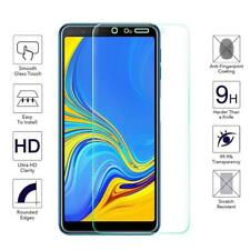 For Samsung Galaxy A7 (2018) Tempered Glass Screen Protector Case Friendly A750