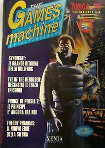 Rivista The Games Machine - TGM - nr 54 (Giugno 1993) + Zzap! Nr 79