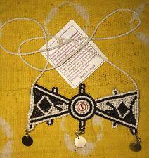 Mas 00004000 ai Massai Fair Trade jnmg114 African Maasai Good Luck necklace