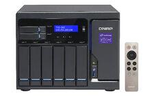 QNAP Tvs-882 Intel Core I5 Turbo vNAS 24tb NAS Server 6x4000gb WD Re Drives