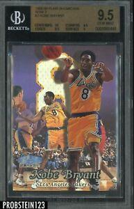 1998-99 Fleer Flair Showcase Passion Row 2 #2 Kobe Bryant HOF BGS 9.5 GEM MINT