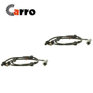 Set of 2 ABS Wheel Speed Sensor Rear Left & Rear Right For Nissan Rogue 08-13