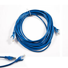 25FT CAT5 CAT5E RJ45 ETHERNET LAN NETWORK PATCH CABLE BLUE HIGH SPEED INTERNET