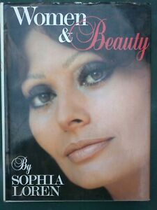 Women & Beauty by Sophia Loren. (1984, Hardback, 1st Ed., Illust., DJ).