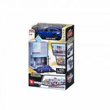 Bburago Build Your City - Hotel Bausatz 1:43 mit Audi A6 Avant