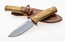 Couteau LION STEEL M5 Olivier Acier Sleipner Manche Bois d'Olivier Italy LSTM5UL