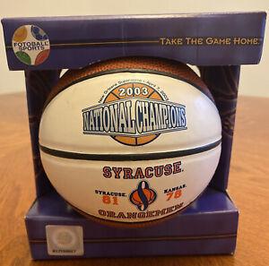 Syracuse Orangemen 2003 National Champions Mini Basketball